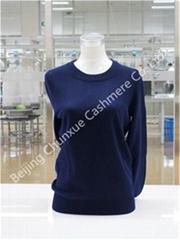Crew Neck Lady Cashmere Sweater