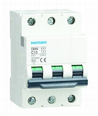 Residual current with over current pretection C65 RCBO