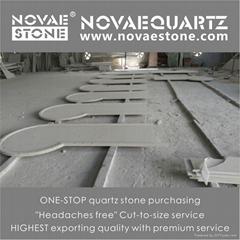 Luxor Grigio Artificial Quartz Stone
