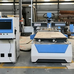 Cabinet body material opener of woodworking processing center