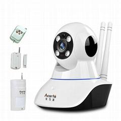 無線報警攝像頭 手機WIFI紅外線報警器 監控報警攝像頭