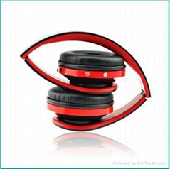 Whosale fashion bluetooth headset for music player or mobile phone