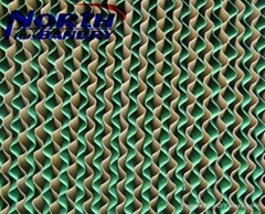 Specialized designed greenhouse evaporative cooling pad