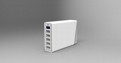 60W 12A  6ports USB Travel Charger with smart IC,Quick charge