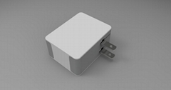 25w 5a /15w 3a 2ports USB Travel Charger