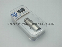2usb 5a 25w/3a 15w Stainless Steel Car
