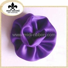High quality handcraft Perfumery decoration ribbon flower