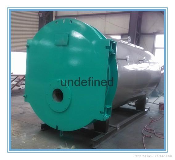 卧式燃油气蒸汽锅炉 1