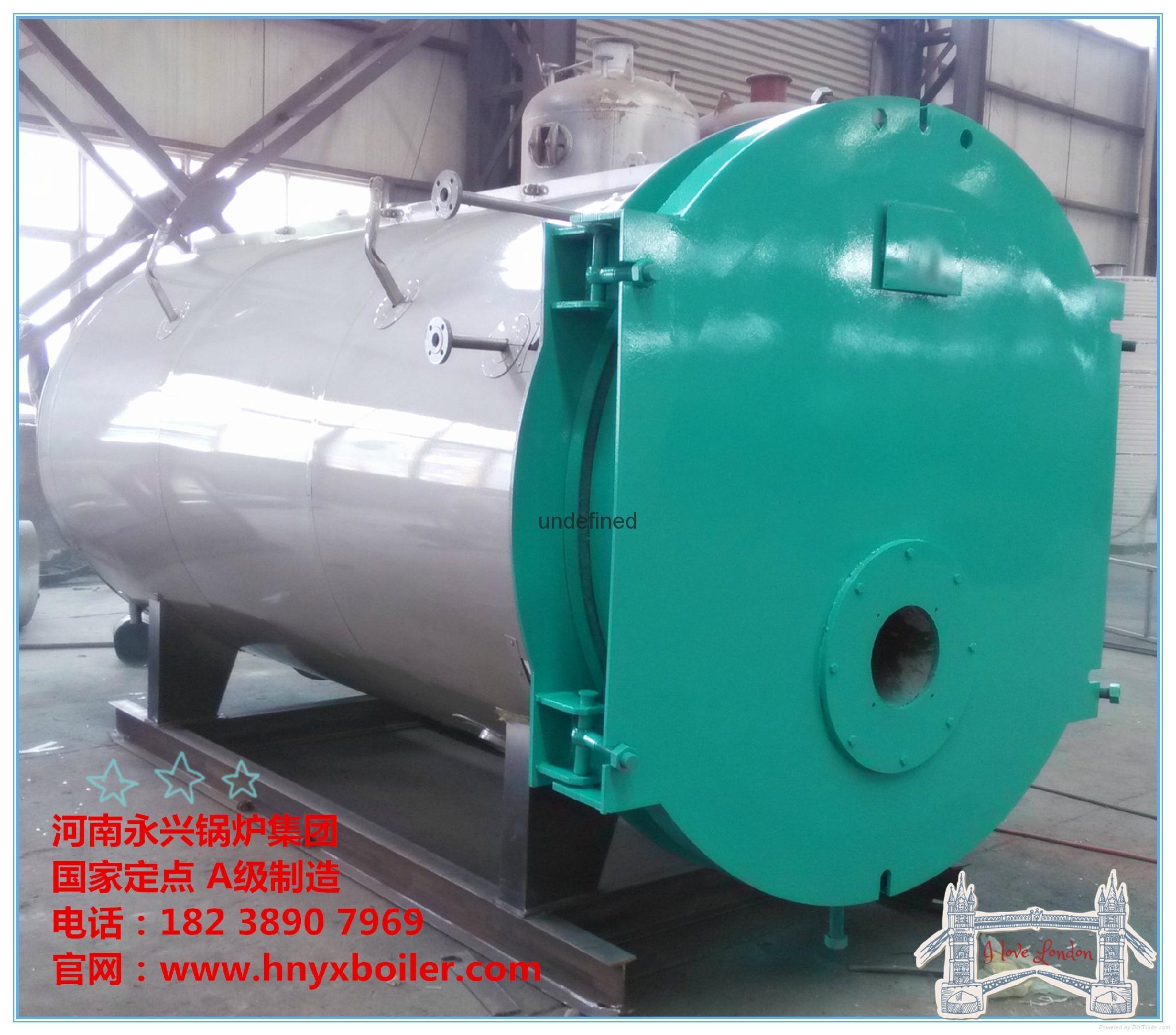 卧式燃油气蒸汽锅炉 5