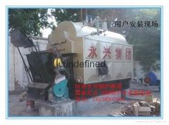 自动安检无烟型燃煤常压热水锅炉