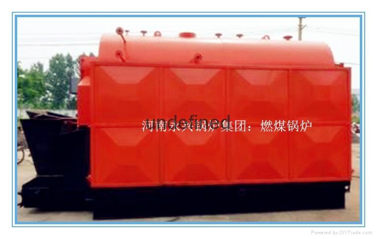 自动安检无烟型燃煤常压热水锅炉 4