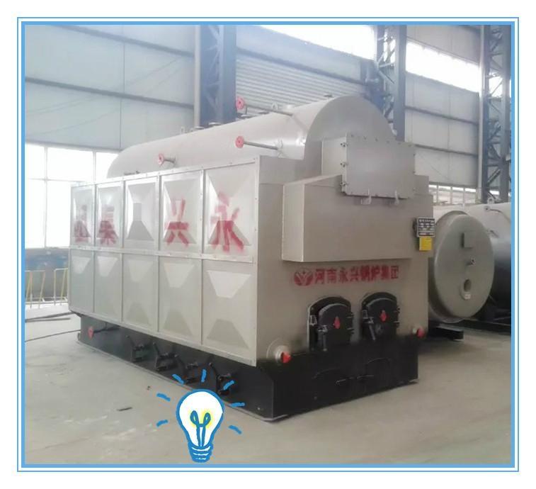煤柴两用2吨手烧生物质蒸汽锅炉 1