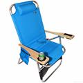 Big Papa 4 Position Beach Chair - Light Blue 3