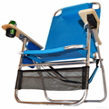 Big Papa 4 Position Beach Chair - Light Blue 4