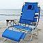 Ostrich 3-In-1 Deluxe Beach Chair In Blue