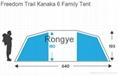 Freedom Trail Kanaka 6 Family Tent 3