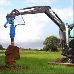 Beiyi hydraulic earth auger