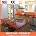 artificial sparkle quartz slab countertop 3
