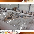 water jet marble medallion designs for hotel lobby 4