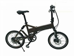 Powerful Lithium Bicycle Light weight Folding E-Bicycle with LCD Display