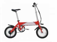 14inch Portable Mini 250W Folding Electric Bicycle