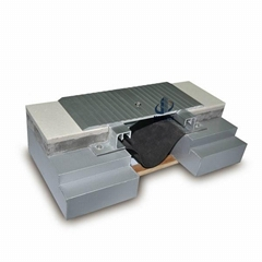 Floor to floor modular Aluminum Profile expansion joint for mall