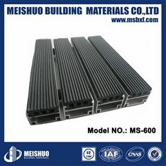 New design Aluminum Dustproof rubber entrance mat for Heavy traffic area
