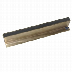 Stainless steel plate EPDM rubber Floor movement joint