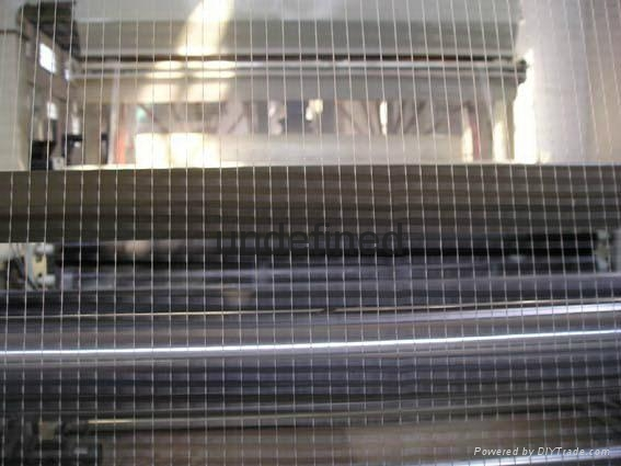 Bio-orientation stretched mesh production line and technology 2