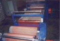 Safety fence production line and