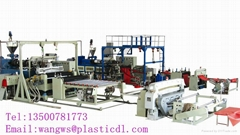 PVC floor production line and technology