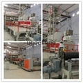 Lamphouse cloth production line and