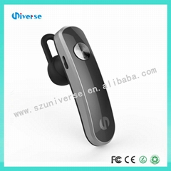 V4.1 Single business bluetooth earphone, hot selling, pair to 2 device