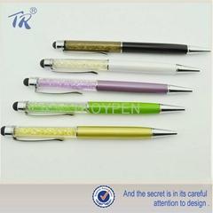 精美水晶電容筆、可定製