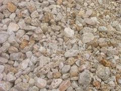 Chemical Grade Barite Lump BaSO4% 94min