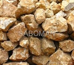 natural barite ore SG 4.1-4.4