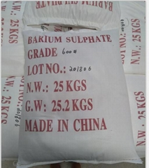 Paint Grade Barite Powder(Barium sulfate) higher whiteness