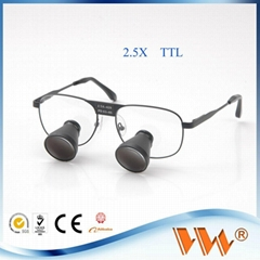 professional headband dental surgical loupes TTL loupe