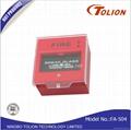 Tolion Hot Sale Break Glass Fire Alarm