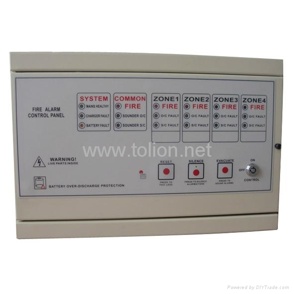 Fire Alarm Security 2/4 /8/16Zone Conventional Fire Alarm Control panel 2