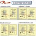 Hecho En China Flash Light Security SL-02 Alarm Emergency Light 5