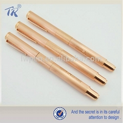New Promotional Products 2015 Copper Gel Pen