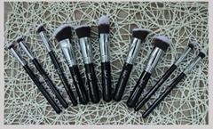 Sofeel 10pcs makeup brush set powder kabuki