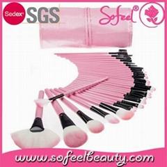 Sofeel wholesale makeup brush set 32piece
