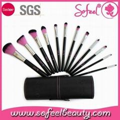12pcs makeup brush set synthetic hair