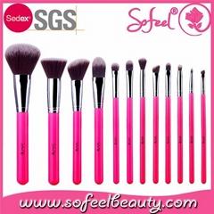 Professional custom makeup brush set 12pcs high quality