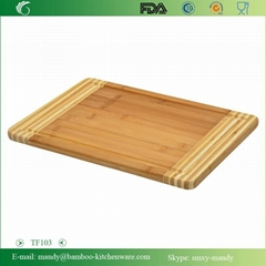 Xingyuan Bamboo Chopping Board with joined colors
