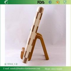 Beautiful Bamboo Wood Cutting Board & Serving Platter Set