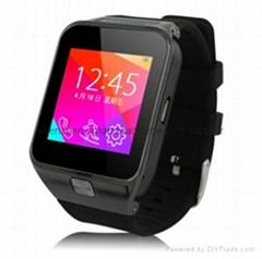 Touch screen pedometer wireless bluetooth china smart watch phone hot wholesale