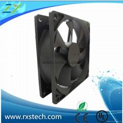92x92x25mm  12v dc cooling fan